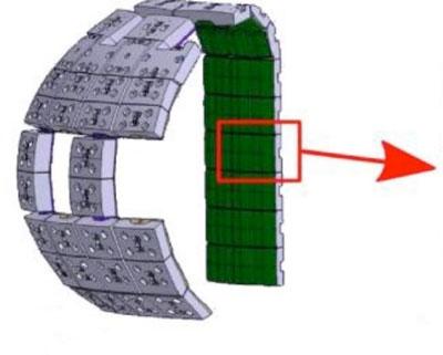 Figure 4: Segment of first wall Figure 5: Test Heat Exchangers