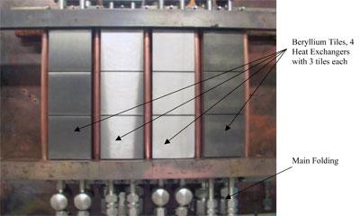 Figure 7: Test setup for Heat Exchangers