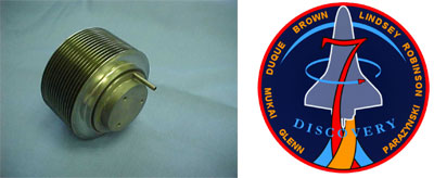 Figure 2: Gas Gap Thermal Switch flown on STS-95