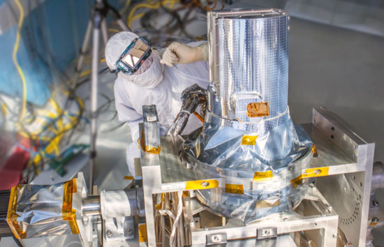 Figure 1: MLI Blankets added at Final Assembly