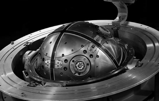 Figure 1: Inertial measurement unit machined from Beryllium
