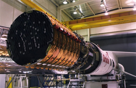 Figure 1: Satellites Integrated to Launch Vehicle