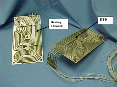 Figure 2: Shunt Resister Bank Heater Plate