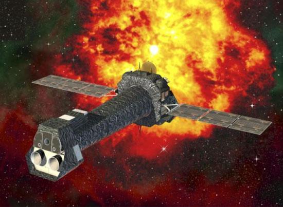 Figure 1: XMM Newton Satellite